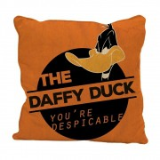Capa Almofada Poliéster Daffy Duck Despicable 45cmx45cm