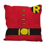 Capa Almofada Poliéster Dco Robin Body Customs  45cmx45cm