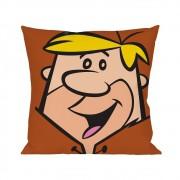 Capa Para Almofada Barney Flintstones Poliéster 45cmx45cm