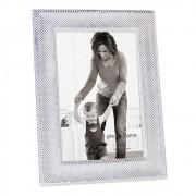 Porta Retrato em Vidro e Metal 21cm x 16cm