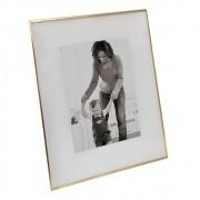 Porta Retrato em Vidro e Metal 23cm x 18cm