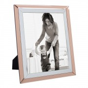 Porta Retrato em Vidro e Metal 26cm x 21cm