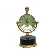 Relógio De Mesa de Metal Da cor Bronze ø39cm