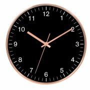 Relógio de Parede de Plastico Cobre 25cm