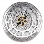 Relógio de Parede Metal Engrenagem 38cm