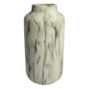 Vaso Decorativo de Cerâmica Marmorizado 28cmx13cmx13cm