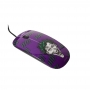 Mouse Plástico Coringa DC Roxo