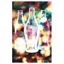 Pano de prato algodão coca-cola light bright fd
