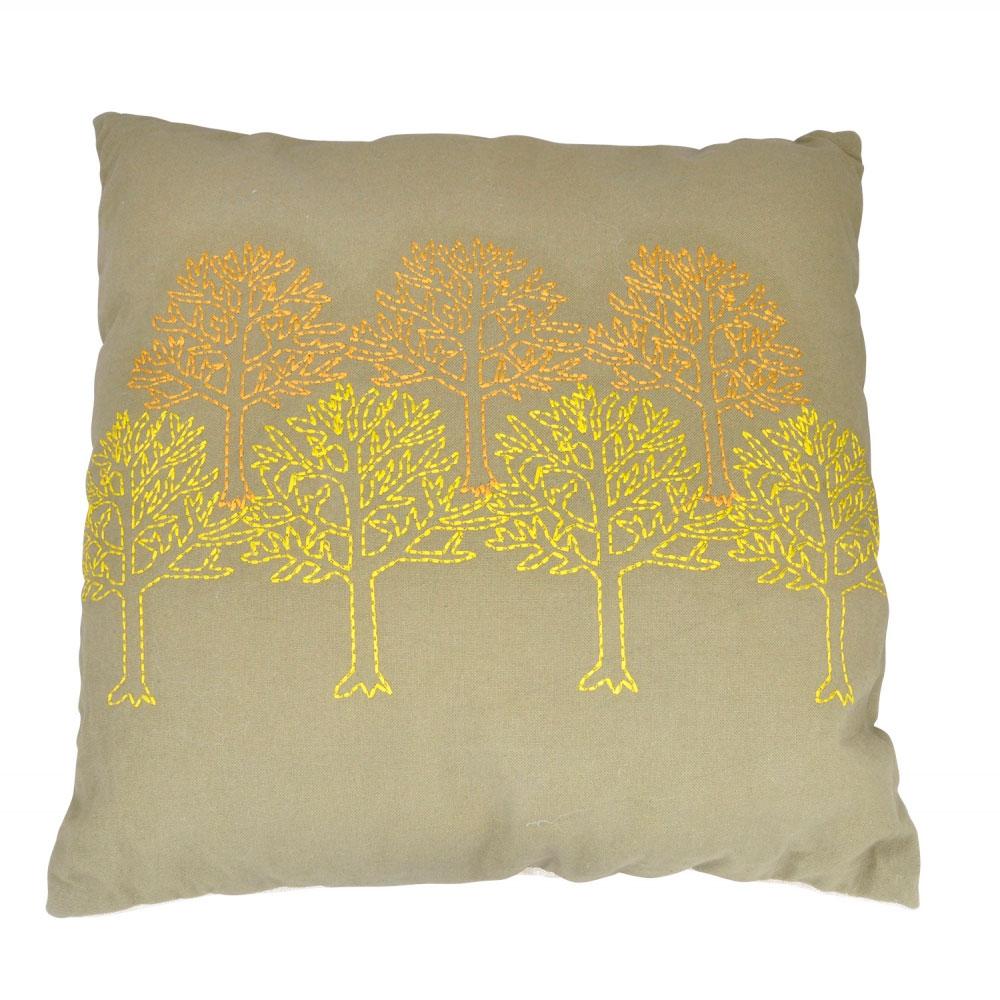 Almofada Em Algodão Árvores