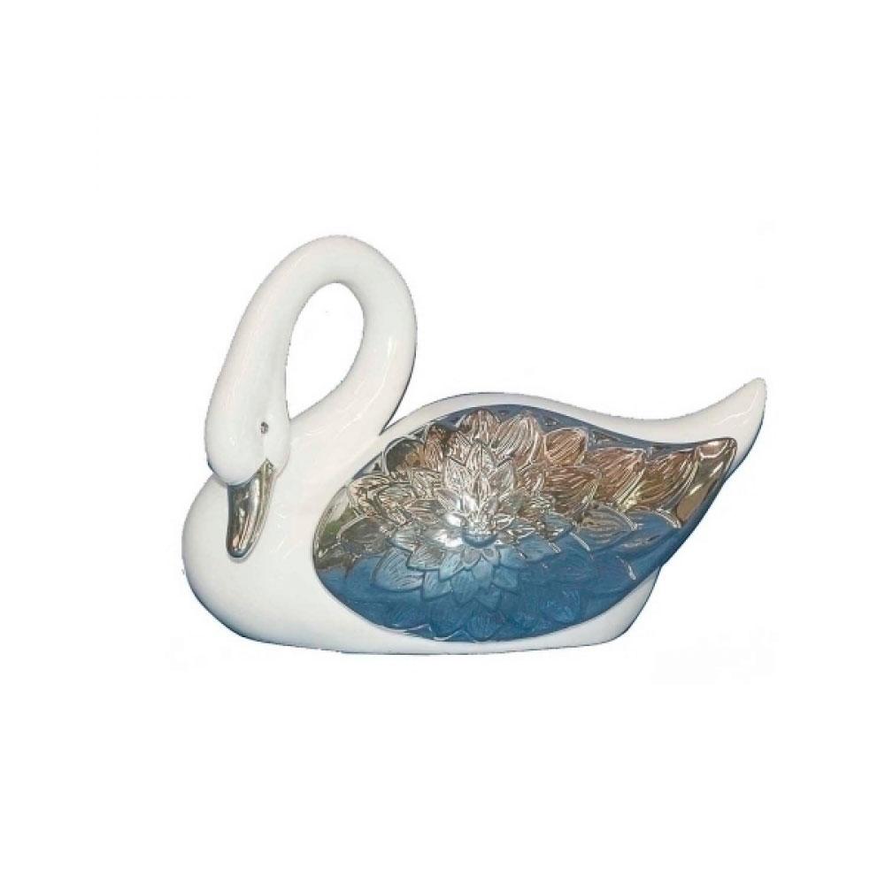 Animal Decorativo Cisne 22X15 Cm
