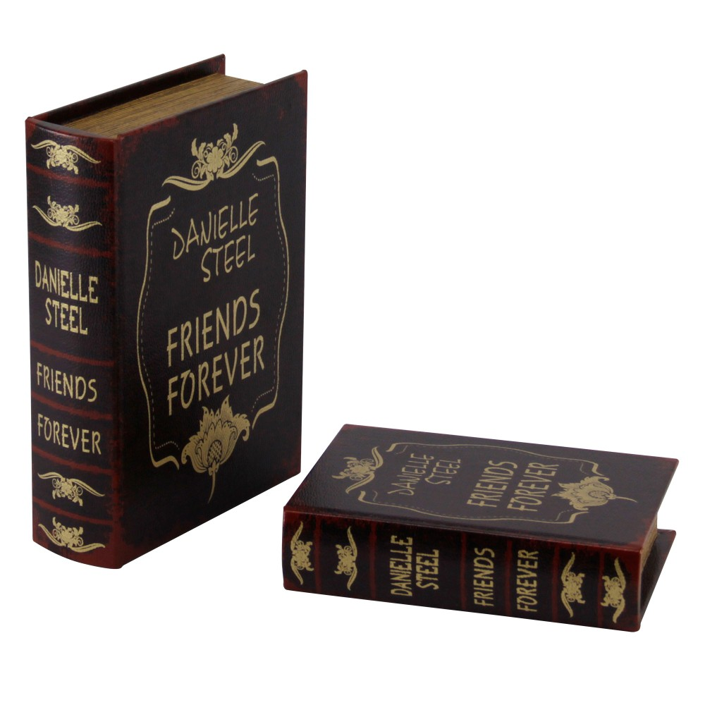 Caixa Livro Amigos 2 Peças 29cmx21cmx8cm