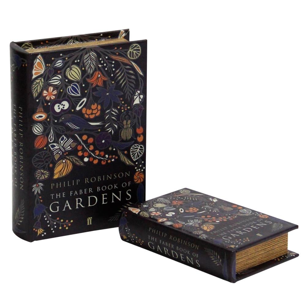 Caixa Livro Gardens 2 Peças 29cmx21cmx8cm