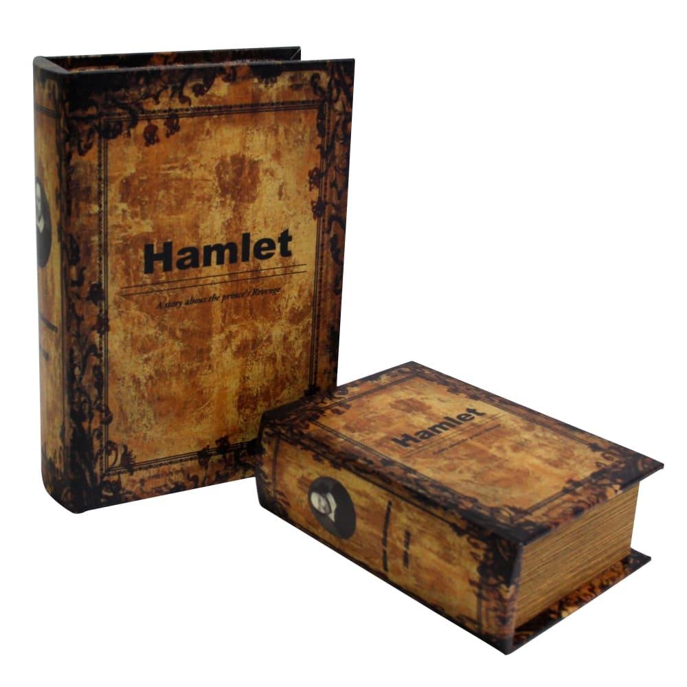 Caixa Livro Gardens 2 Peças Hamlet 27cmx19cmx8cm