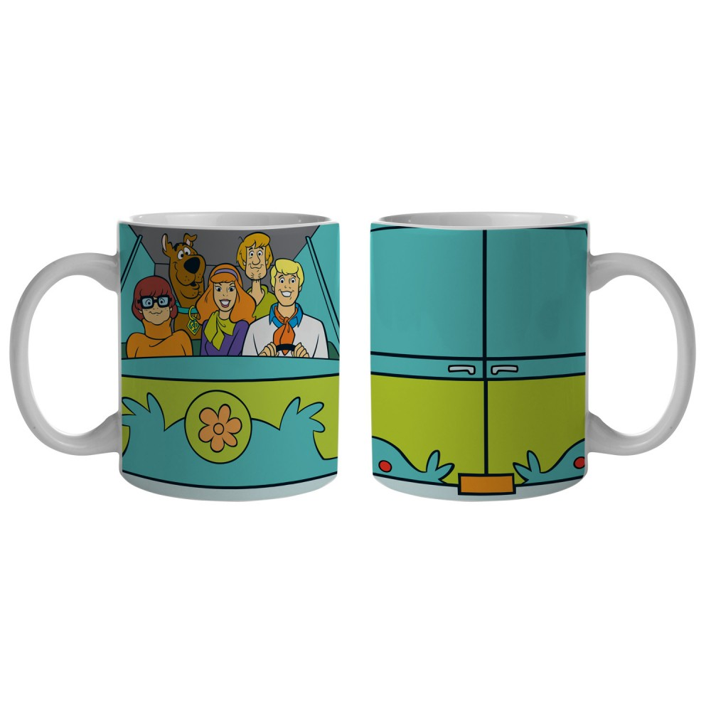 Caneca Hb Scooby Everybody In The Mistery Machine 300ml