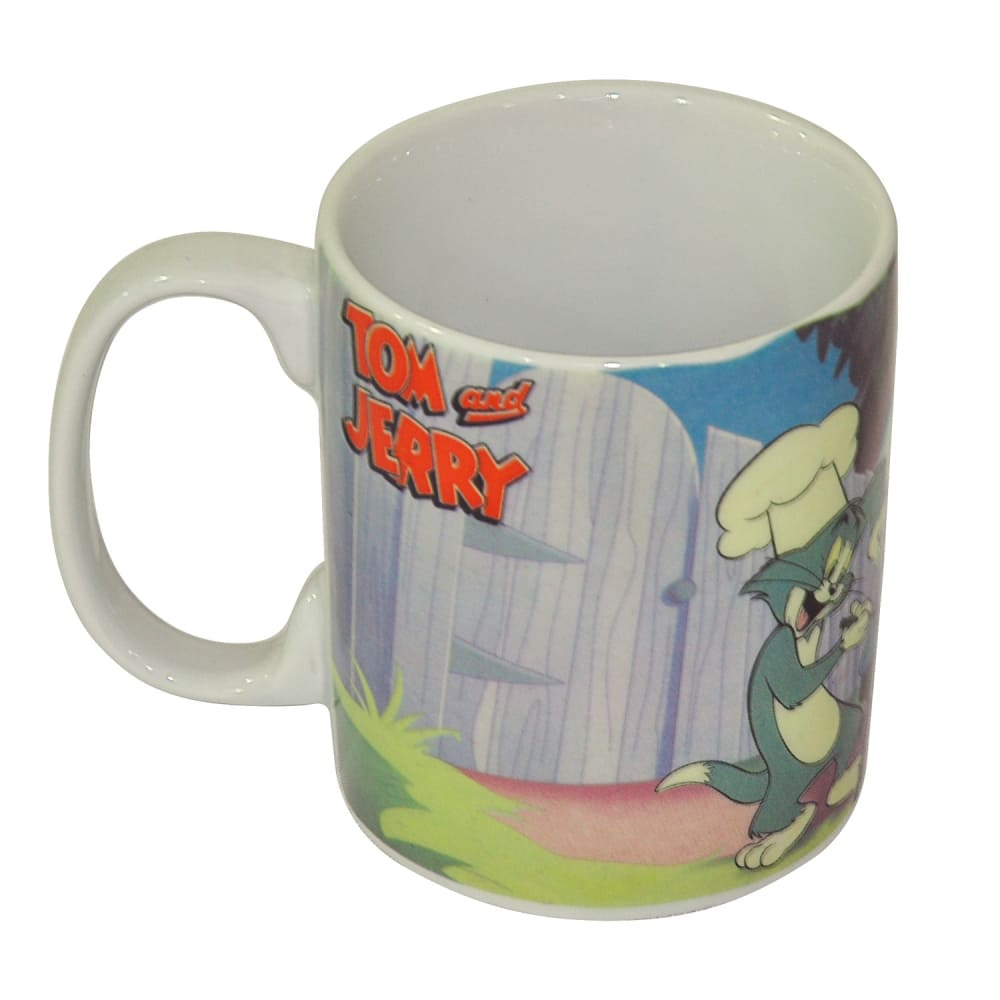 Caneca Porcelana HB Tom and Jerry Barbecue Party 300ml