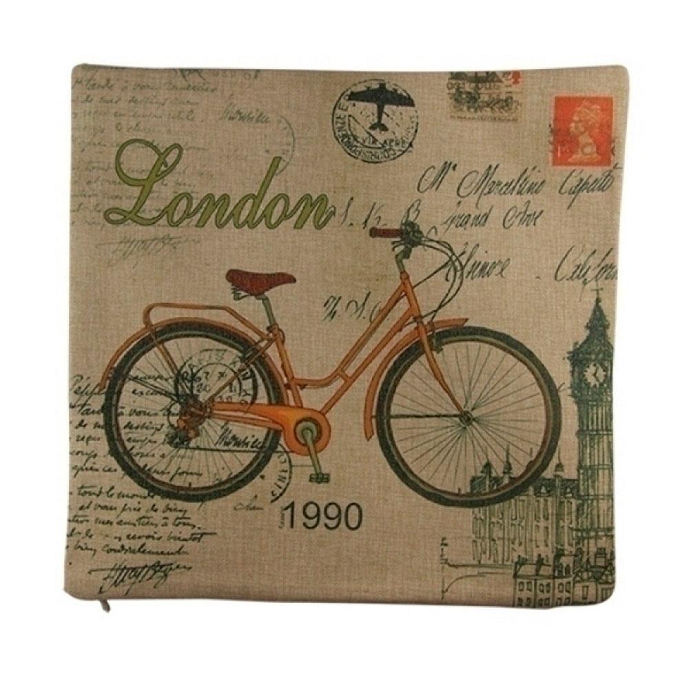Capa De Almofada London 1990 45X45 Cm