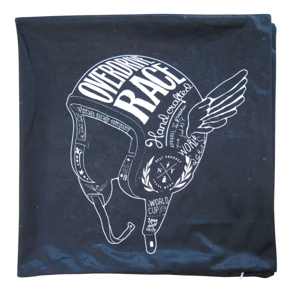 Capa Para Almofada Dark Helme With Wings Preto 45cmx45cm