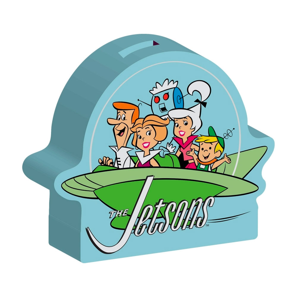 Cofre Cerâmica HB The Jetsons Family Spaceship