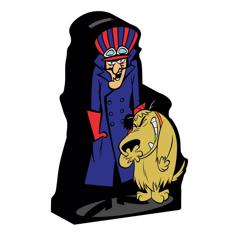 Cofre Cerâmica HB Wacky Race Dick And Muttley