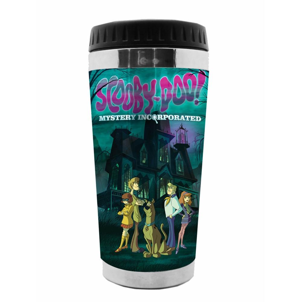 Copo Térmico Scooby House Polipropileno 18cmx6cmx8