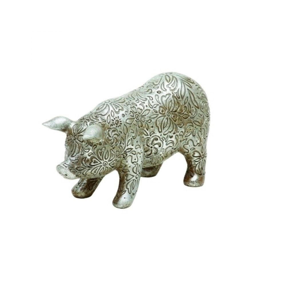 Figura Decorativa Porco