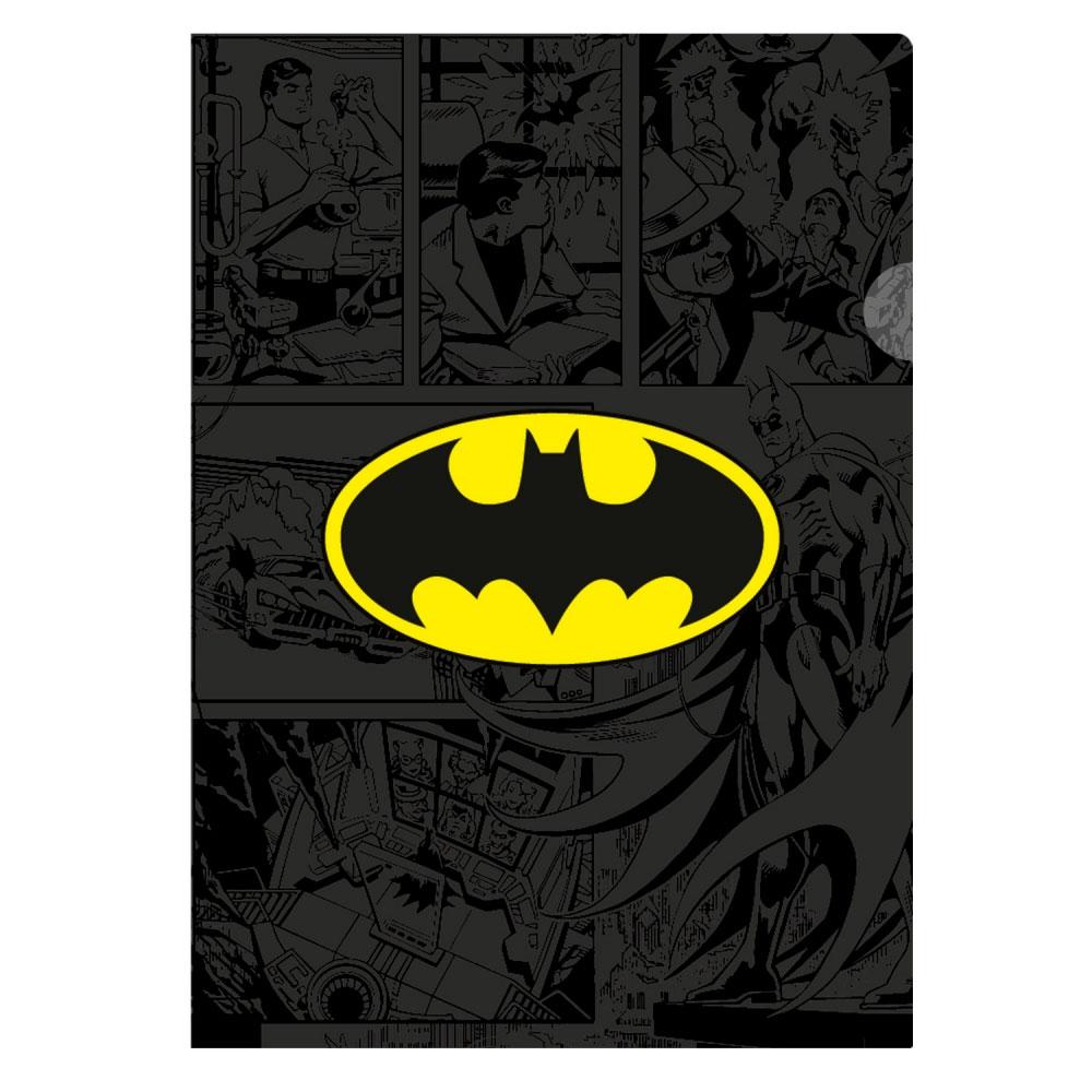 Pasta l plastica quadrinhos dc batman