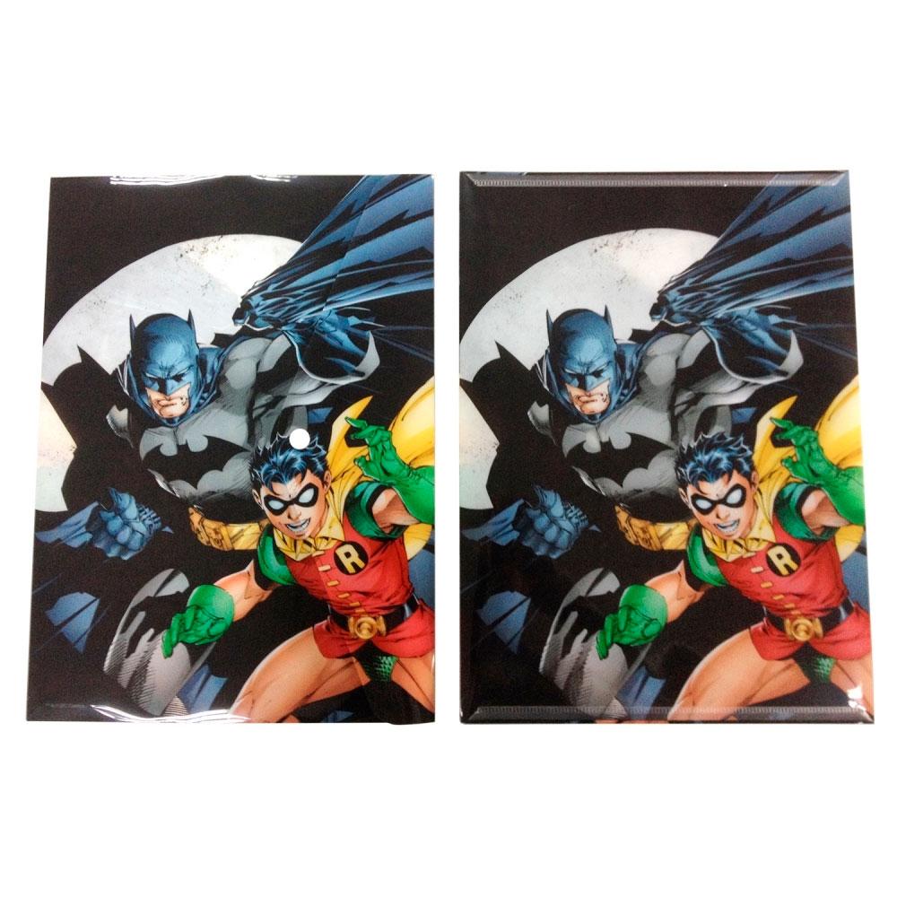 Pastas envelope plastico pp DC Batman ABD Robin
