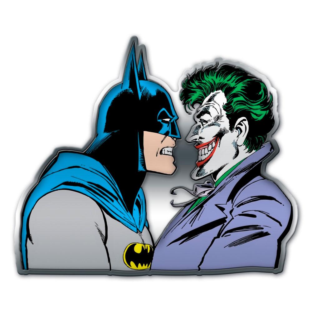 Placa de Parede DC Batman And Joker