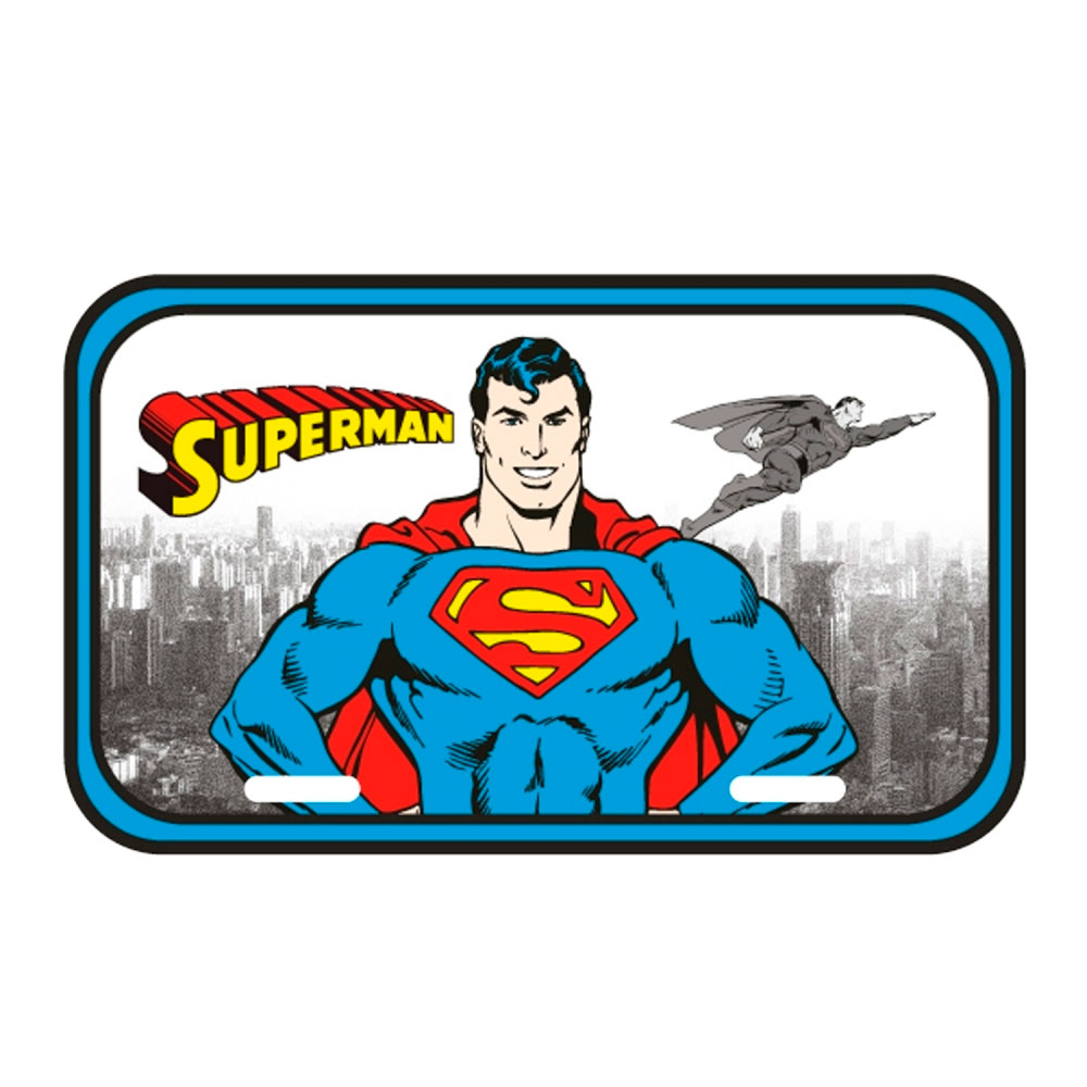Placa de parede metal DC SUPERMAN FD