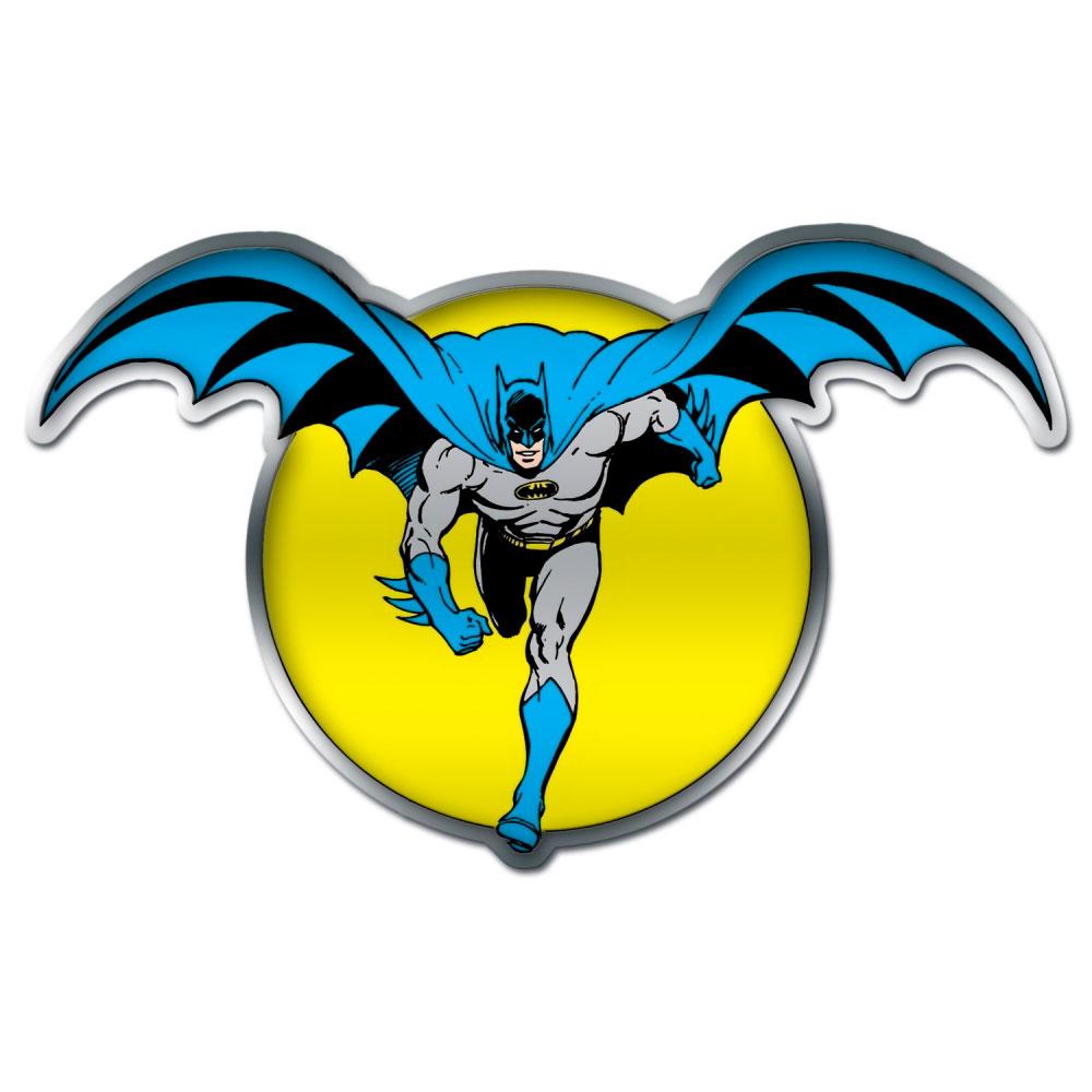 Placa de parede metal recortada DC BATMAN