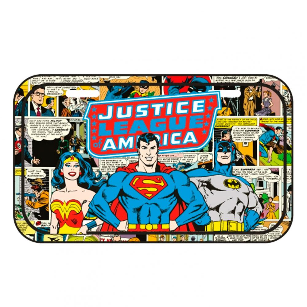 Placa Parede Metal DC Superman Comics