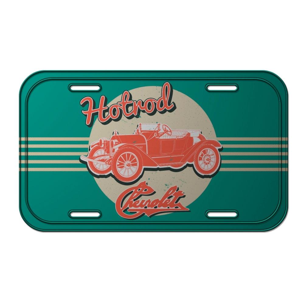 Placa Parede Metal GM Jalopy Hotroad