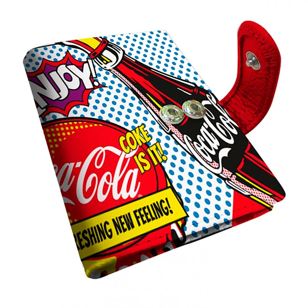 Porta cartão Coca-Cola Pop up