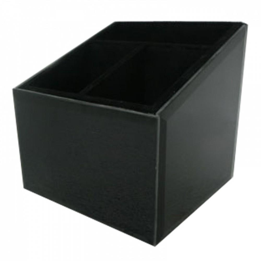 Porta Controle Remoto De Couro Sintético 14cmx12cm12cm