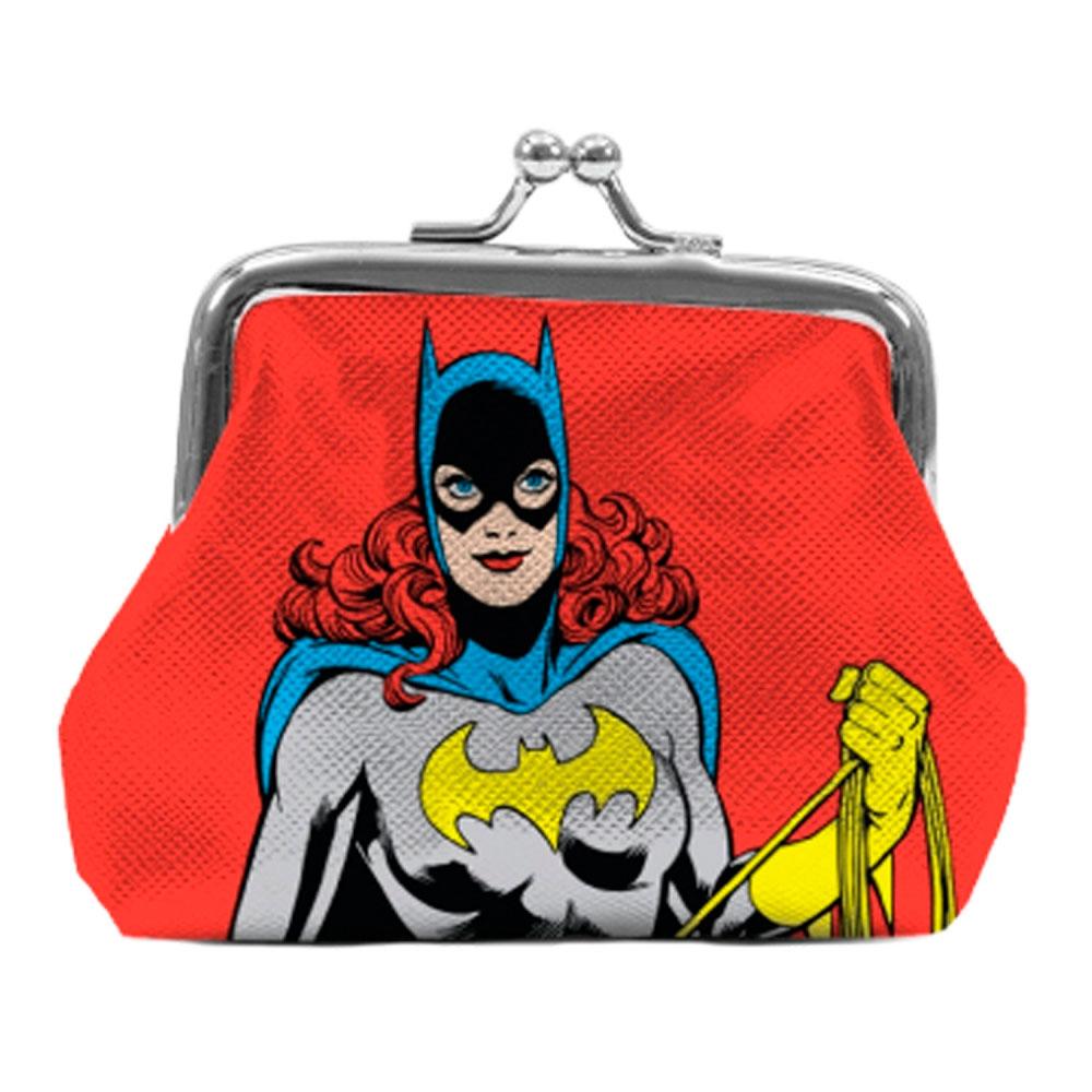 Porta Moedas PVC DC Batgirl Vermelho