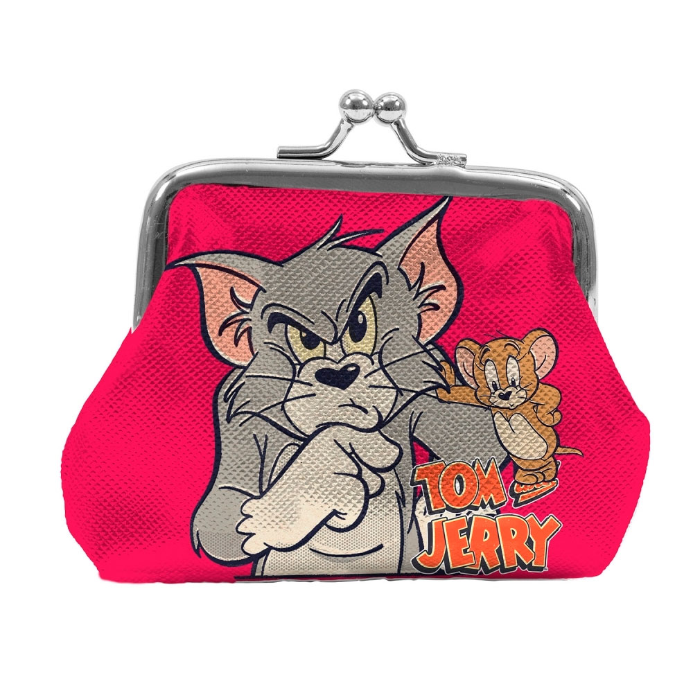 Porta Moedas PVC HB Tom And Jerry Mad Cat W Mouse