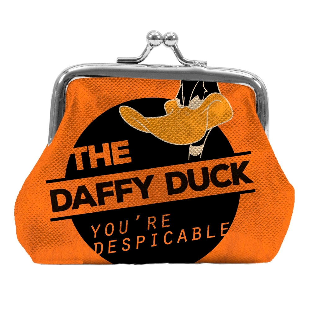 Porta Moedas PVC Looney Daffy Duck Despicable