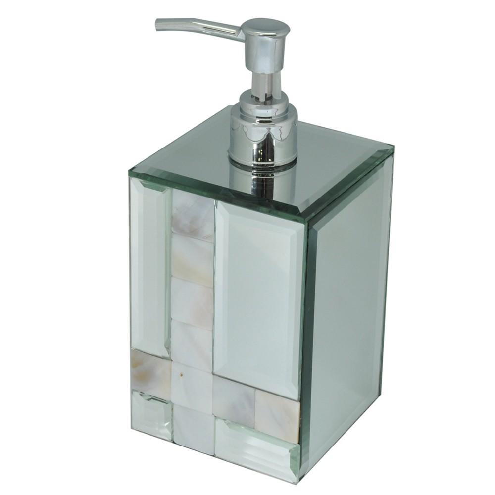 Porta Sabonete Líquido Espelhado 12cm x 8cm