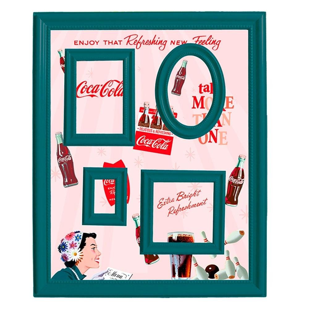 Quadro Magnético Porta Retratos Coca-cola Pin up flower hat