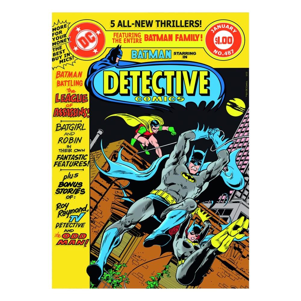 Quadro Tela Batman Dective 70cmx50cmx3cm