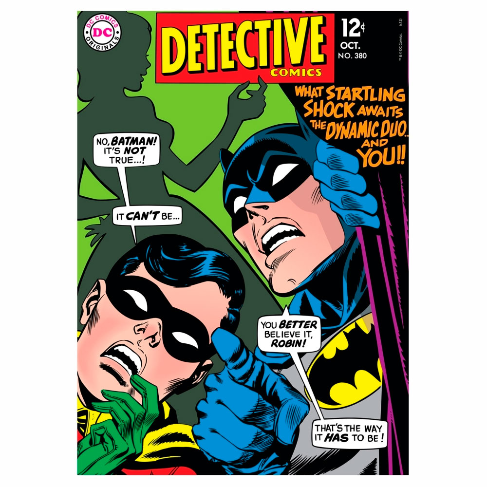 Quadro Tela Detective 1 Colorido