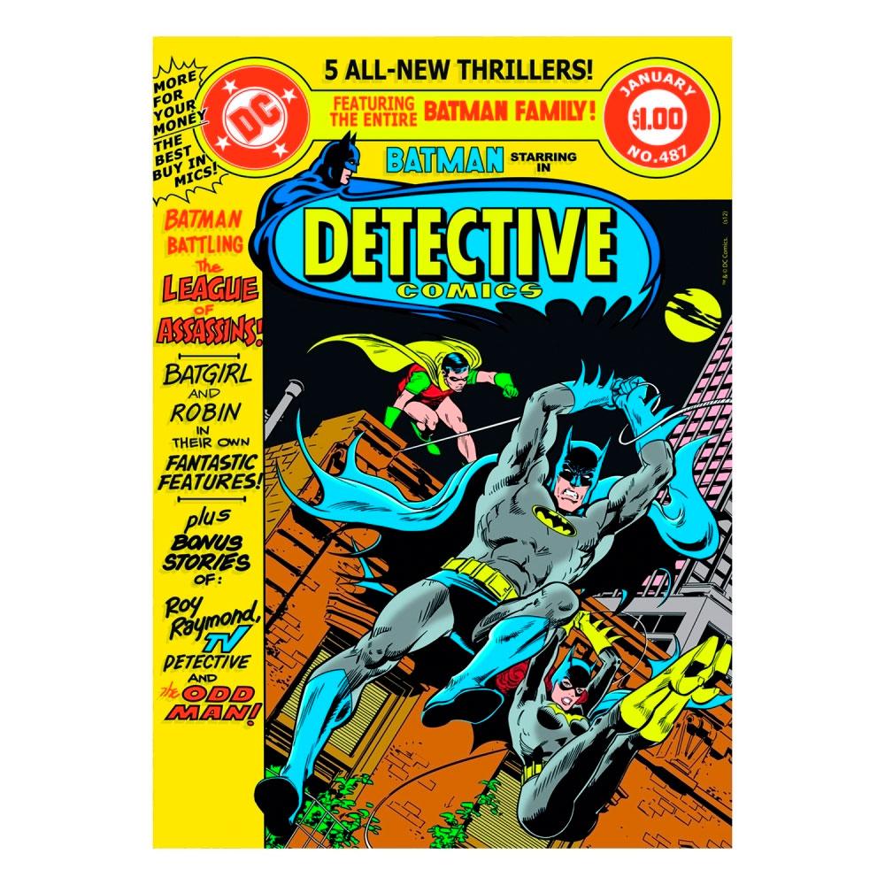 Quadro Tela Detective 2 Colorido