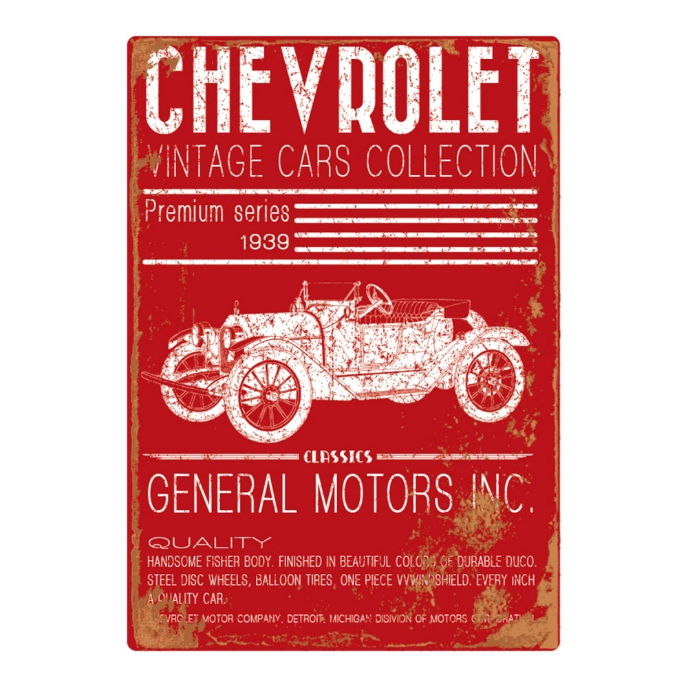 Quadro Tela GM Jalopy Vintage Cars Collection FD