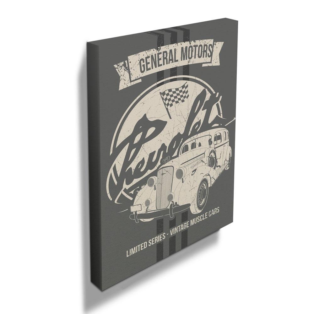 Quadro Tela GM Master Deluxe Limited Edition FD