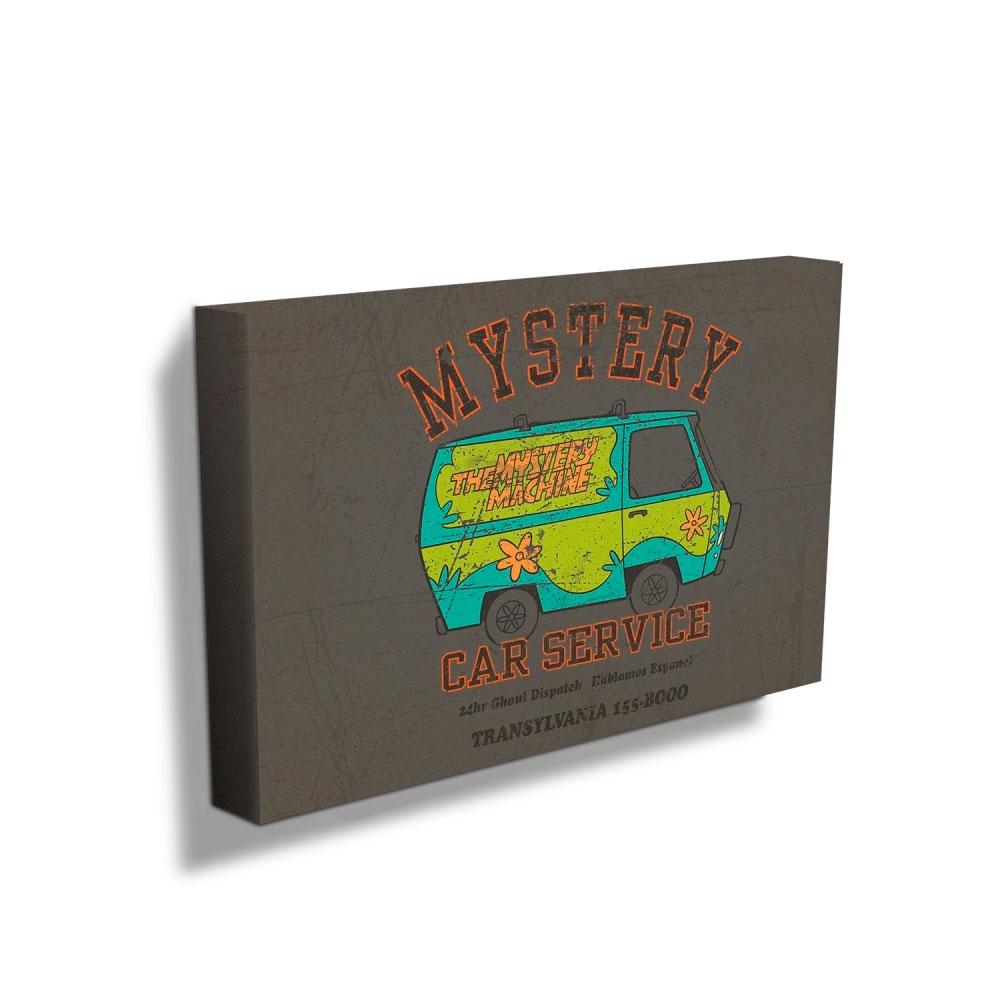 Quadro Tela HB Scooby Mistery Machine Car Service