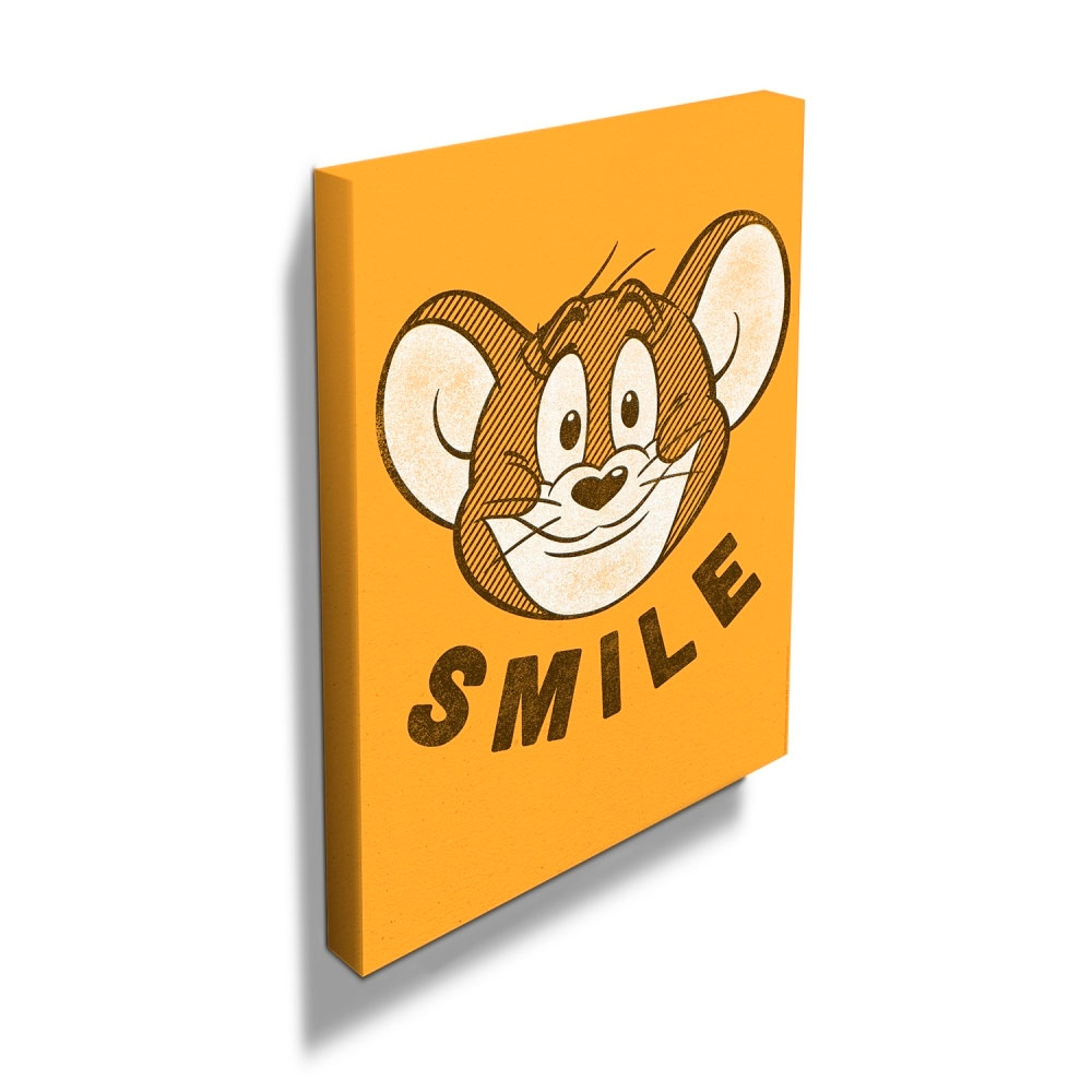 Quadro Tela HB Tom And Jerry Mouse Smile