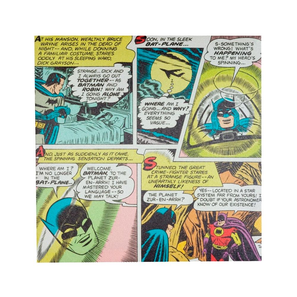 Quadro Tela Quadrinhos 01 DC Colorido.