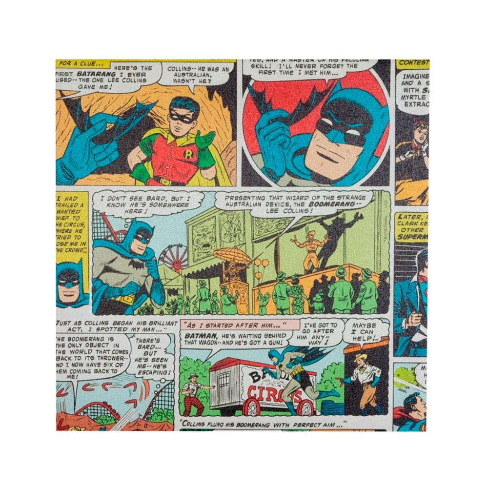 Quadro Tela Quadrinhos 03 DC Colorido.