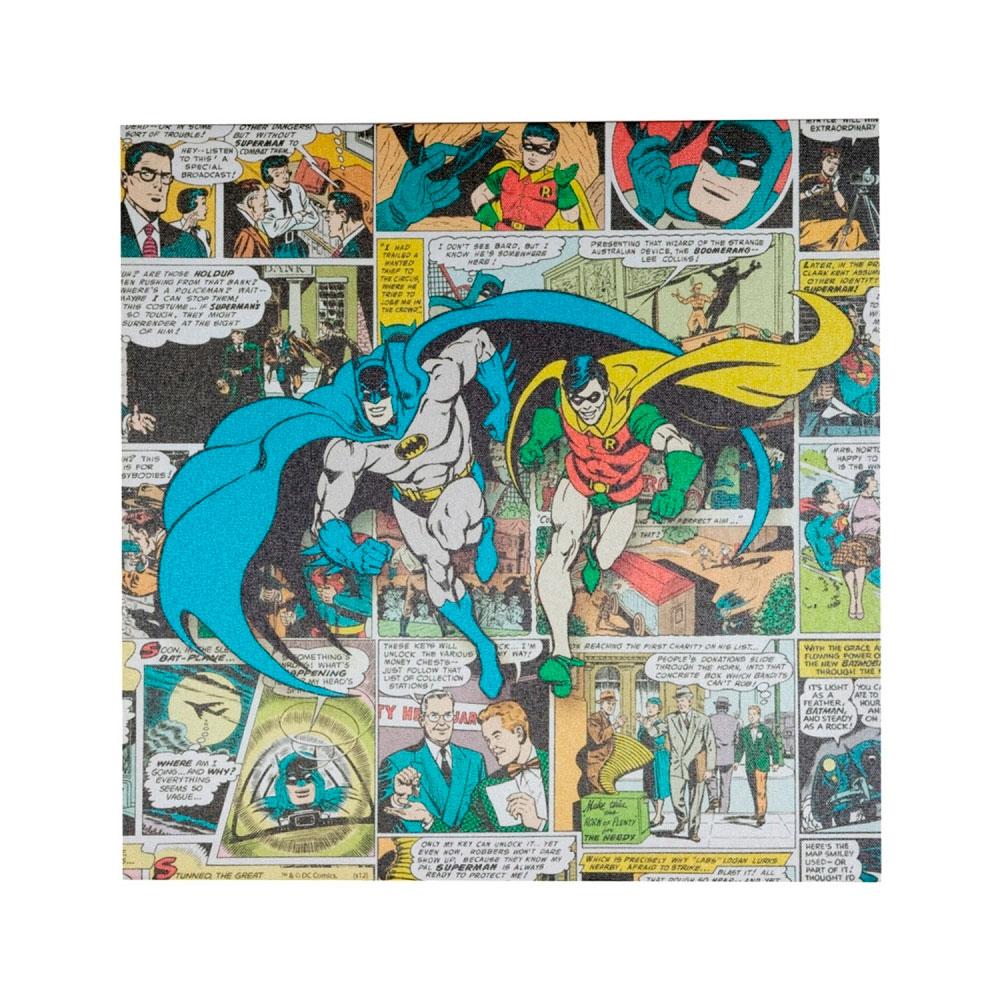 Quadro Tela Quadrinhos DC Batman E Robin