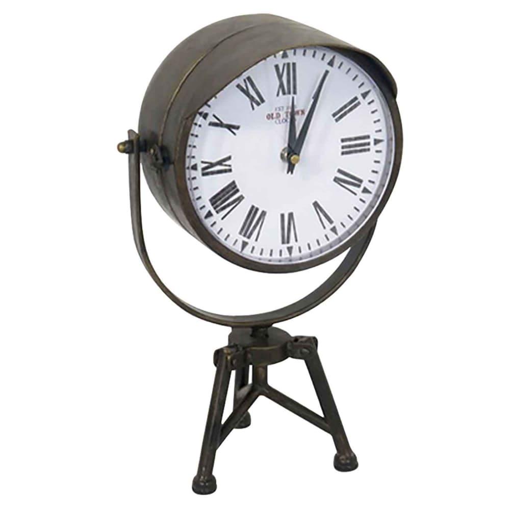 Relógio De Mesa de Metal  ø39cm